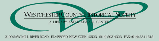 The Westchester County Historical Society